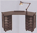 Salon Manicure Tables: 19-2008