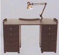Pibbs Zorro Manicure Table 19-2004
