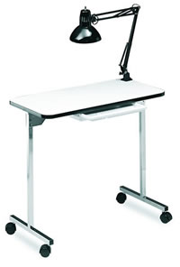 Dina Meri Mani-Go Foldable Manicure Table 28-310P