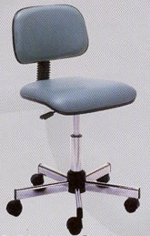 Pibbs Ergonomic Stool w/ Backrest 19-646