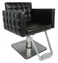 Collins Nouveau Hydraulic Salon Styling Chair w/ 20-20 Square Base 01-6800X