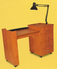Salon Manicure Tables: 01-834-48
