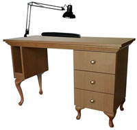 Collins Bradford Manicure Table 01-886-48