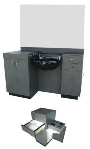 Collins Continental Wet Booth Unit 01-900-60