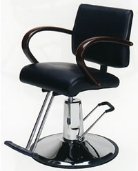 Paragon Styling Chair w/ Round Base 22-9005-03
