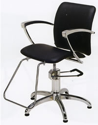 Styling Chair w/ Star Base 22-9017-13