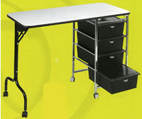 Salon Manicure Tables: 19-973