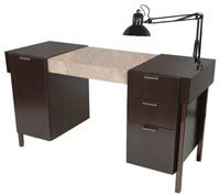 Salon Manicure Tables: 01-974-54