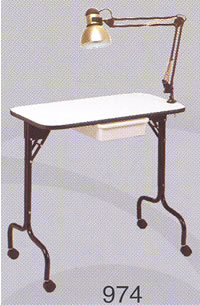 Pibbs Foldable Manicure Table 19-974