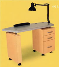 Salon Manicure Tables: 01-804-48