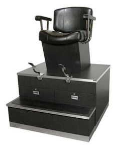 01-9040 Continental Shoe Shine Stand