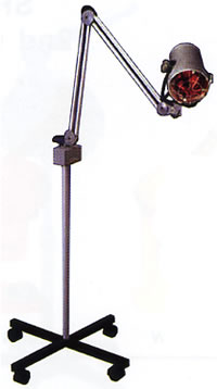 B&S Infrared Ray Lamp On Stand 52-D350