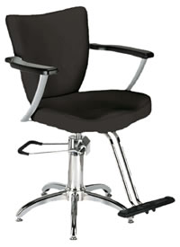 YCC Products Styling Chair 30-H1903BKS