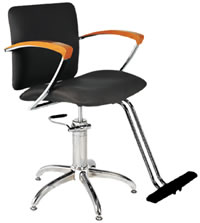 YCC Products Styling Chair 30-H2110BKS
