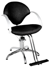 YCC Products Styling Chair 30-H2113BKS