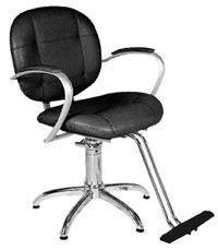 YCC Products Styling Chair 30-H2116BKS