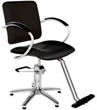 YCC Products Styling Chair 30-H2119BKS