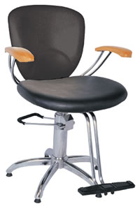 YCC Products Styling Chair 30-H2161BKS