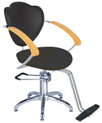 YCC Products Styling Chair 30-H2193BKS