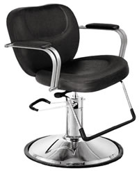 YCC Products Styling Chair 30-H5679BKR